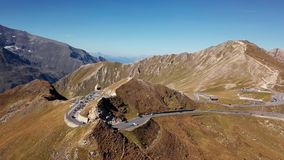Antena del camino de Grossglockner, Austria metrajes