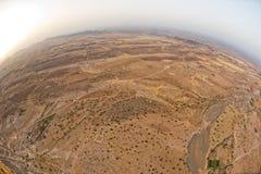 Antena del desierto de Maroc Marrakesh Foto de archivo libre de regalías