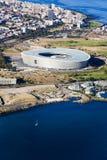 Antena del estadio de Cape Town Foto de archivo