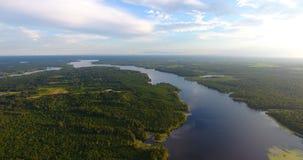 Antena 1 del lago imagen de archivo libre de regalías