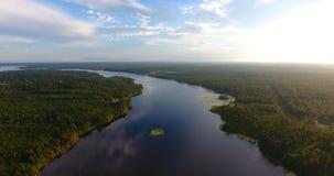 Antena 2 del lago imagen de archivo