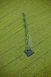 Antena del pilón Fotos de archivo