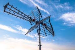 Antena direccional fotografía de archivo libre de regalías