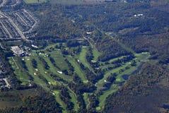 Antena do campo de golfe de Barrie Imagens de Stock