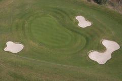 Antena do golfe Imagens de Stock