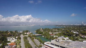 Antena do olho dos pássaros de Miami vídeos de arquivo