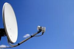 A antena do satélite Imagem de Stock