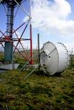 Antena do sinal do telefone móvel Imagens de Stock