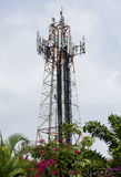 Antena do telefone celular Imagens de Stock