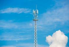 Antena do telefone celular Fotos de Stock