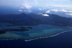 Antena dois de Fiji  Fotografia de Stock