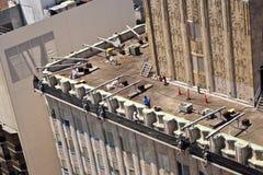 Antena drapacza chmur dach w San Fransisco Zdjęcia Stock