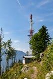Antena en las montañas Imagen de archivo
