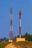Telekommunikation antena lizenzfreies stockfoto