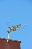 Antena fixada na parede Imagem de Stock