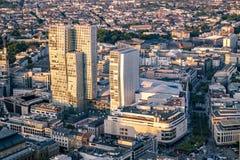 Antena Frankfurt magistrala w Niemcy, Europa - zdjęcia royalty free