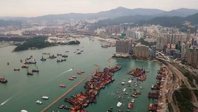 Antena, Hong Kong Imagem de Stock
