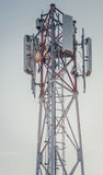 Antena Kontrollturm stockfoto