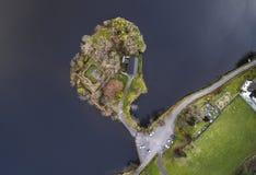Antena krajobraz Obraz Royalty Free