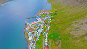 Antena krajobraz - Iceland Fotografia Stock