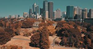 Antena krajobraz Sydney środkowy biznes wokoło schronienia zbiory