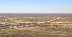 Antena krajobraz w Namibia Obrazy Royalty Free