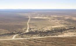 Antena krajobraz w Namibia Zdjęcia Royalty Free