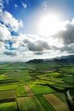 antena krajobrazu Zdjęcie Royalty Free