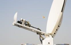 Antena móvel da transmissão Fotos de Stock