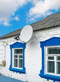 Antena na domu wiejskim Obraz Stock