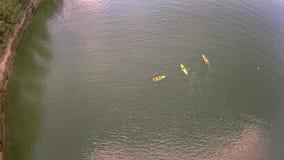 Antena nad jeziornymi wylie południe Carolina Obrazy Royalty Free