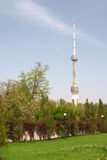 Antena no céu Foto de Stock