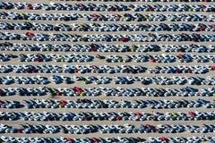 Antena nowi samochody Południowa Afryka zdjęcie stock