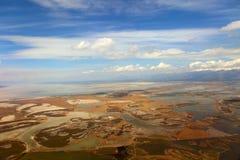 antena odpowiada rzeka widok Zdjęcie Royalty Free