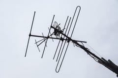 Antena para a tevê fotografia de stock