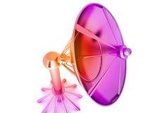 Antena parabólica ilustración del vector