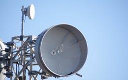 Antena parabólica Fotografia de Stock