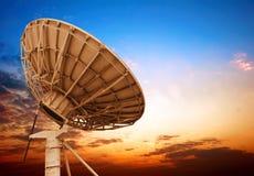 Antena parabólica foto de stock