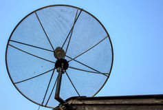 Antena parabólica Fotos de archivo