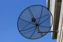 Antena parabólica Foto de archivo libre de regalías