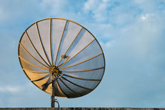 Antena parabólica fotografía de archivo libre de regalías