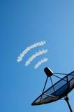 A antena parabólica Fotos de Stock Royalty Free