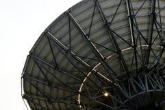 Antena parabólica com luz dada forma Fotografia de Stock
