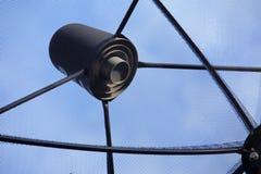 Antena parabólica de la telecomunicación Imagenes de archivo
