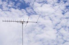 Antena Polo da tevê Imagens de Stock Royalty Free