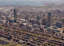 Antena posterior de la bahía de Boston Imagen de archivo libre de regalías