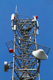 Antena satélite Foto de Stock Royalty Free