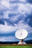 Antena satelitarna - radiowy teleskop Obraz Royalty Free