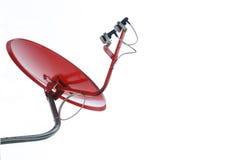 Antena satelitarna w Biały Tle Obraz Stock