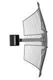 Antena sin hilos parabólica Imagen de archivo libre de regalías